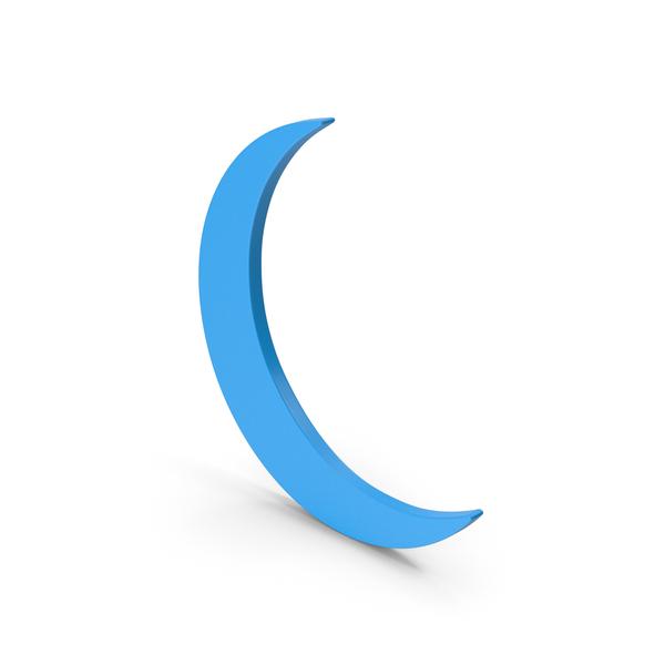 Meteorology Symbols: Symbol Moon Blue PNG & PSD Images