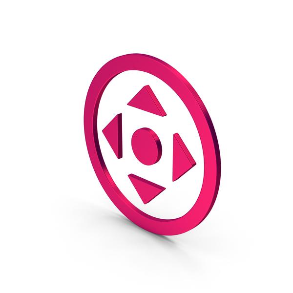Directional Arrow: Symbol Move Button Metallic PNG & PSD Images