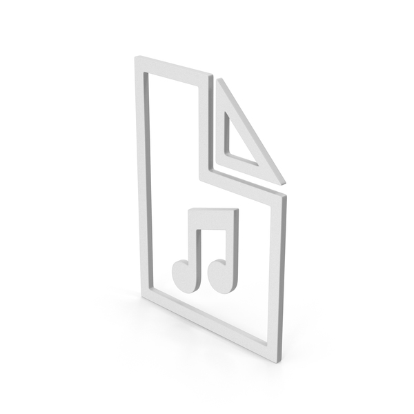 Computer Icon: Symbol Music File PNG & PSD Images