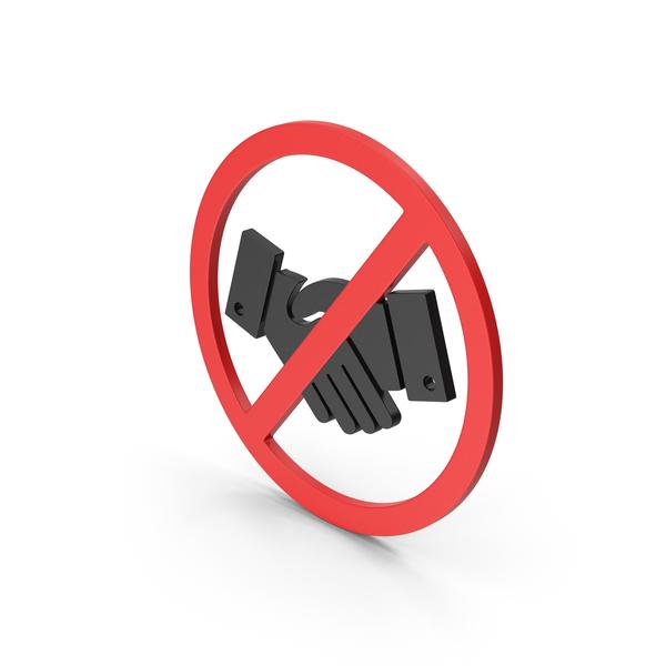 Computer Icon: Symbol No Handshake PNG & PSD Images