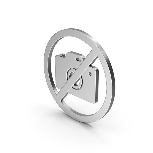Logo: Symbol No Image Silver PNG & PSD Images