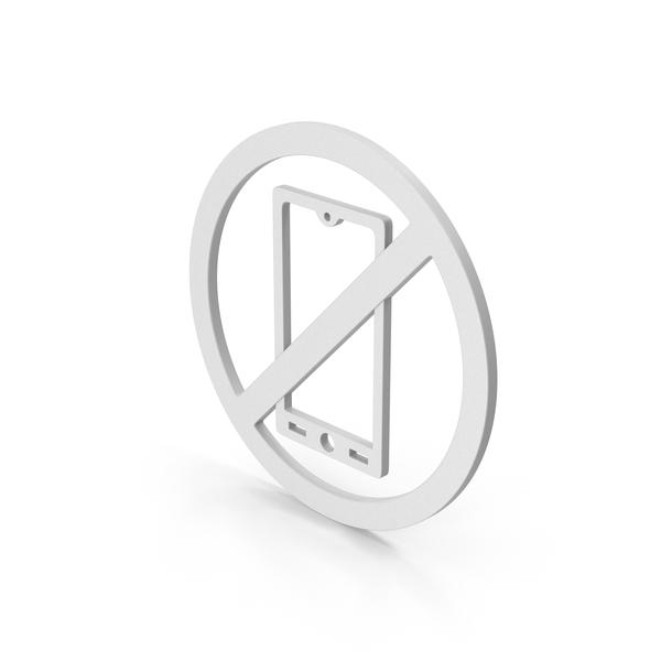 Logo: Symbol No Mobile PNG & PSD Images
