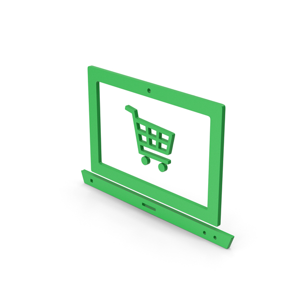 Cart: Symbol Online Shopping Green PNG & PSD Images