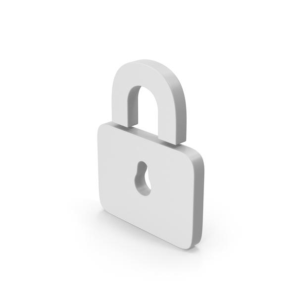 Computer Icon: Symbol Padlock PNG & PSD Images