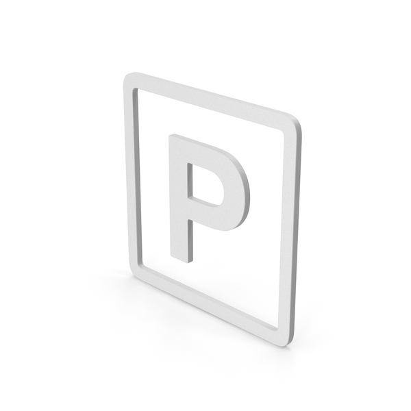 Traffic Signs: Symbol Parking PNG & PSD Images