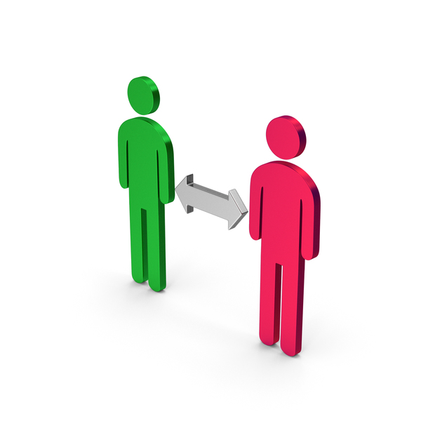 Computer Icon: Symbol People Connection PNG & PSD Images