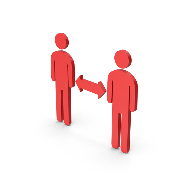 Computer Icon: Symbol People Connection Red PNG & PSD Images