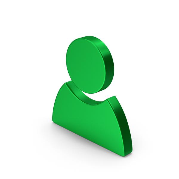 Logo: Symbol People Green Metallic PNG & PSD Images