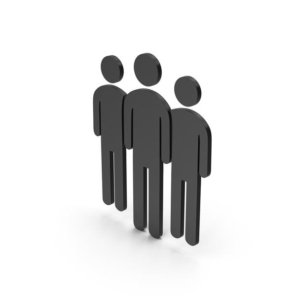 Logo: Symbol People Group Black PNG & PSD Images