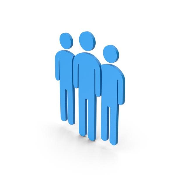 Logo: Symbol People Group Blue PNG & PSD Images