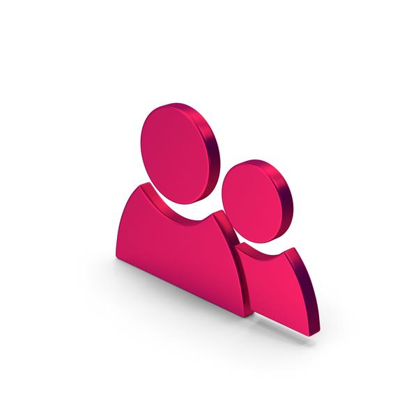 Logo: Symbol People Metallic PNG & PSD Images