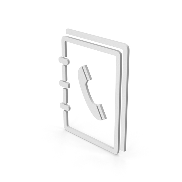 Logo: Symbol Phone Book PNG & PSD Images