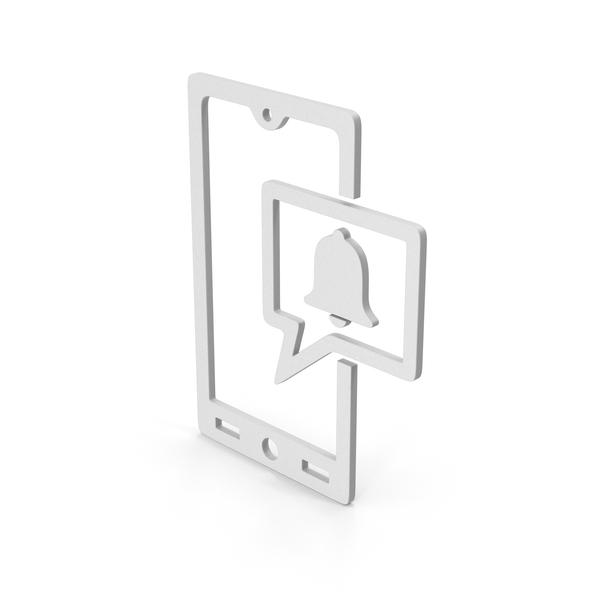 Symbols: Symbol Phone Notification PNG & PSD Images