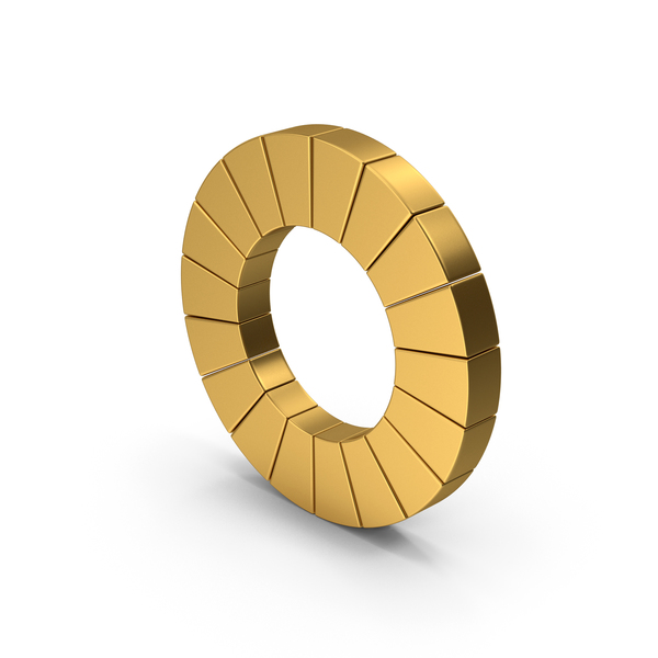 Symbol Pie Chart Gold PNG & PSD Images