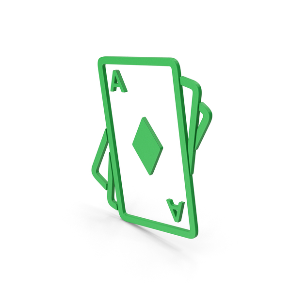 Symbols: Symbol Playing Cards Green PNG & PSD Images
