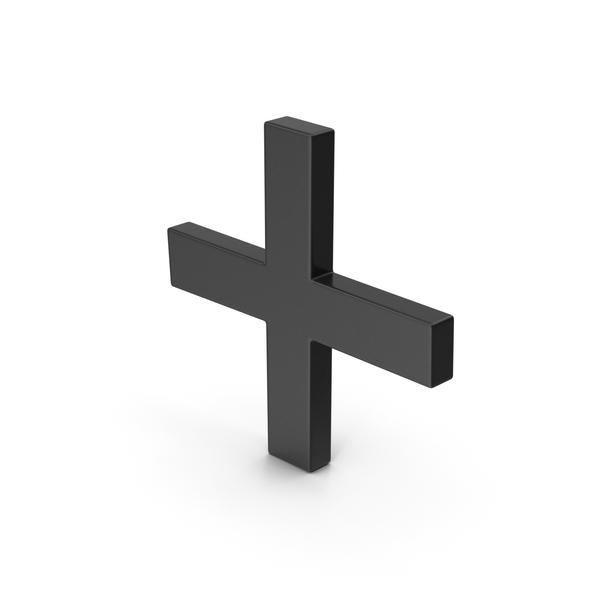 Sign: Symbol Plus Black PNG & PSD Images