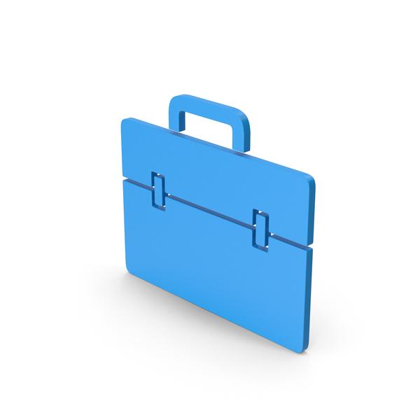 Logo: Symbol Portfolio Blue PNG & PSD Images