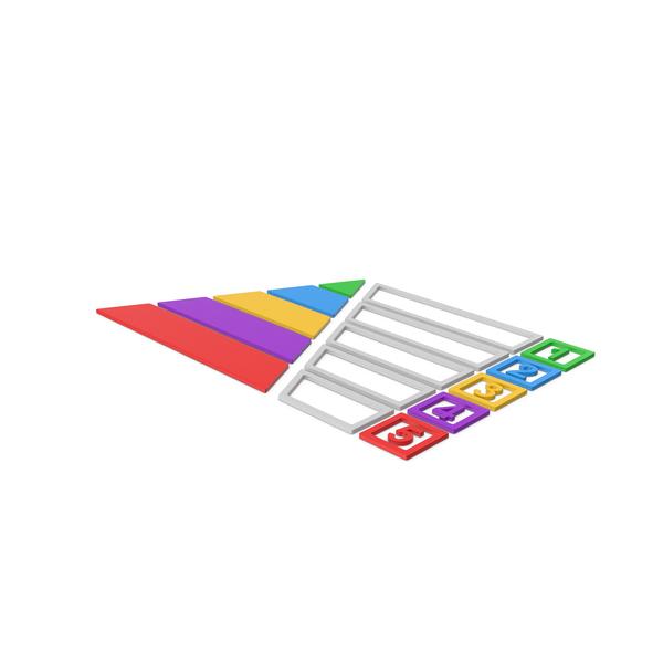 Symbol Pyramid Graph Chart PNG & PSD Images