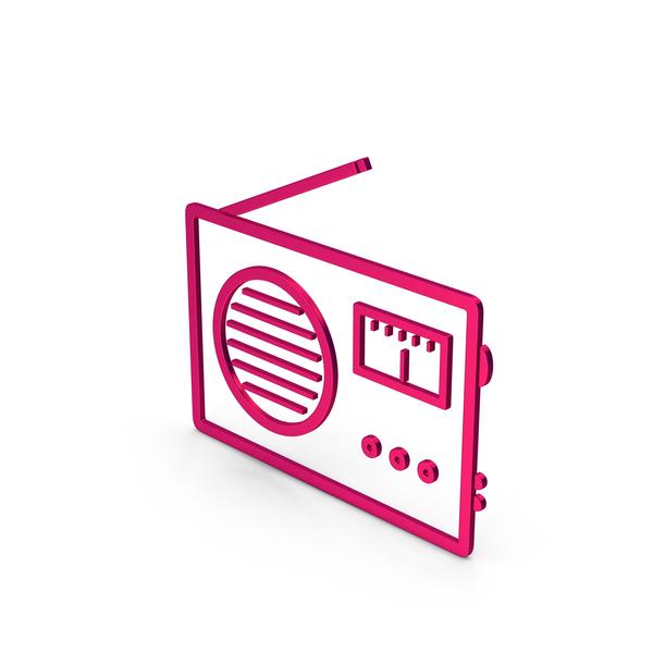 Logo: Symbol Radio Metallic PNG & PSD Images