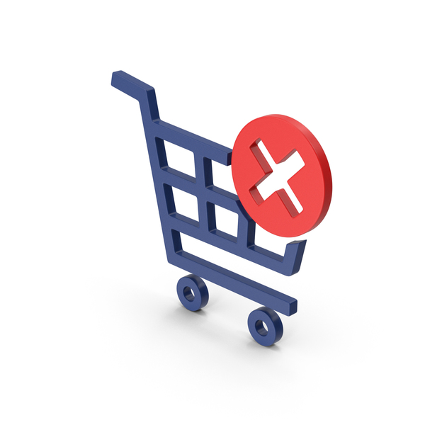 Symbol Remove From Shopping Cart PNG & PSD Images