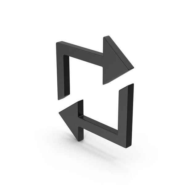 Computer Icon: Symbol Repeat Black PNG & PSD Images