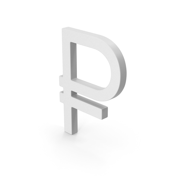 Symbol Russian Ruble PNG & PSD Images