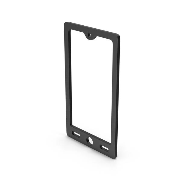 Logo: Symbol Smart Phone Black PNG & PSD Images