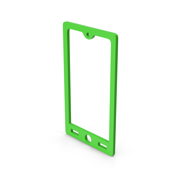 Logo: Symbol Smart Phone Green PNG & PSD Images