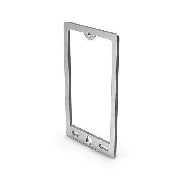 Logo: Symbol Smart Phone Silver PNG & PSD Images