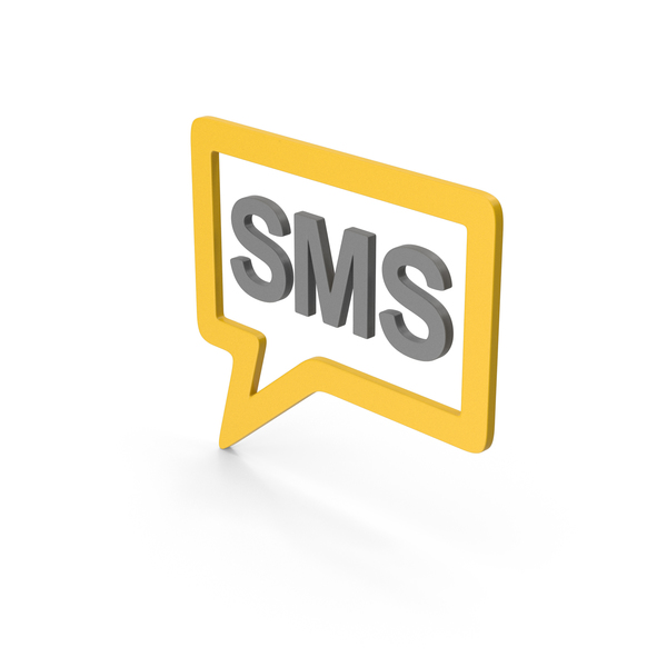 Computer Icon: Symbol SMS Message Yellow PNG & PSD Images