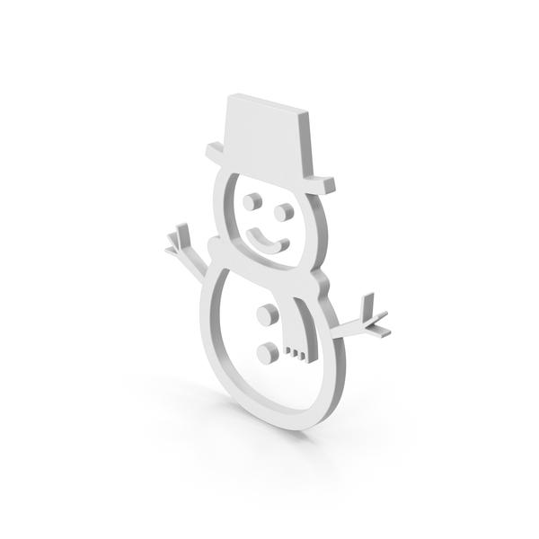 Symbol Snow Man PNG & PSD Images