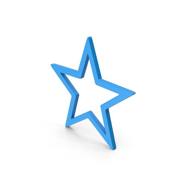 Logo: Symbol Star Blue PNG & PSD Images