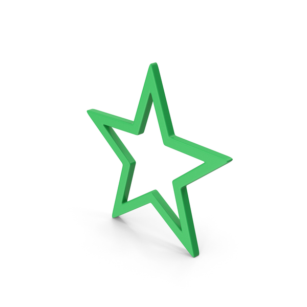 Logo: Symbol Star Green PNG & PSD Images