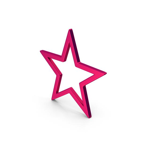 Logo: Symbol Star Metallic PNG & PSD Images