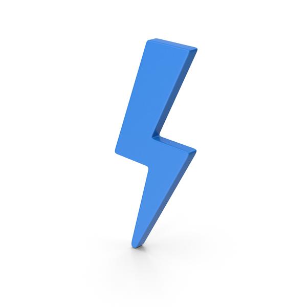 Meteorology Symbols: Symbol Storm Blue PNG & PSD Images