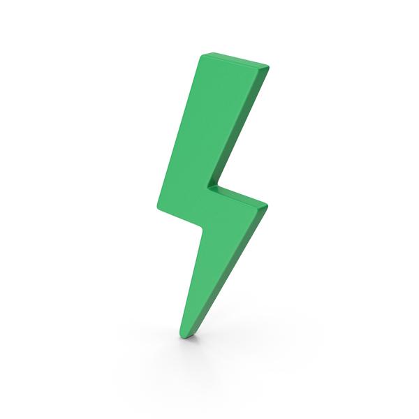Meteorology Symbols: Symbol Storm Green PNG & PSD Images