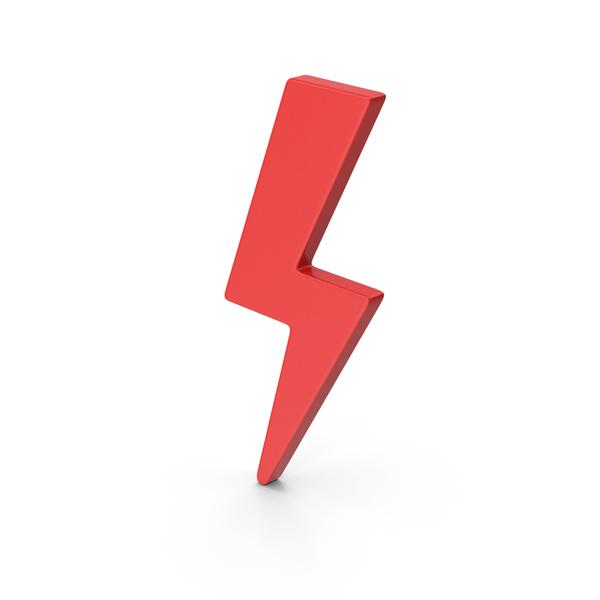 Meteorology Symbols: Symbol Storm Red PNG & PSD Images