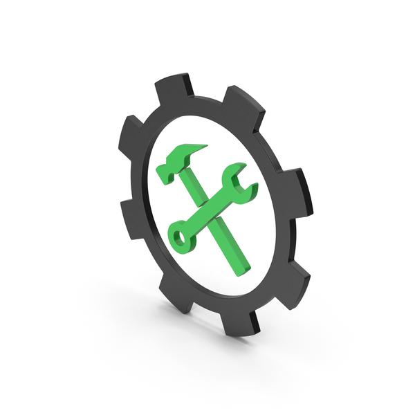 Symbols: Symbol Tools Green PNG & PSD Images