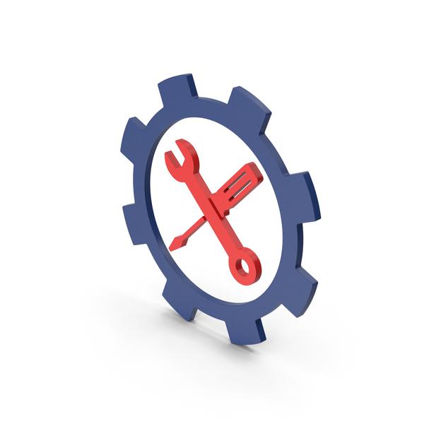 Logo: Symbol Tools Red PNG & PSD Images