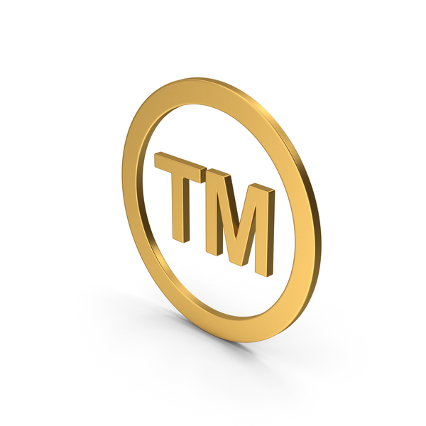 Logo: Symbol Trademark Gold PNG & PSD Images