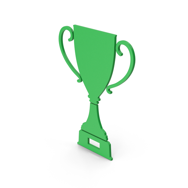 Symbol Trophy Cup Green PNG & PSD Images