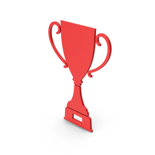 Symbol Trophy Cup Red PNG & PSD Images