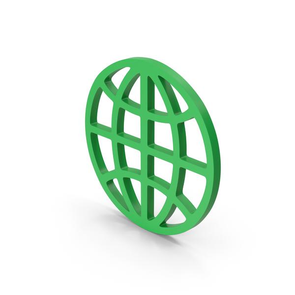Symbol Web Green PNG & PSD Images