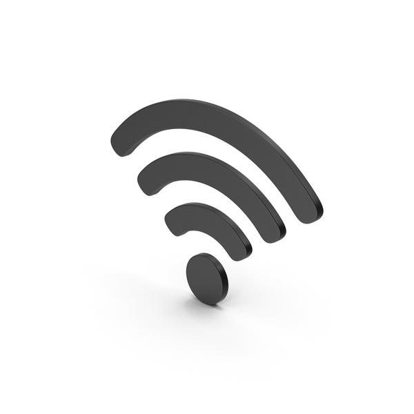 Wi Fi: Symbol WIFI Black PNG & PSD Images