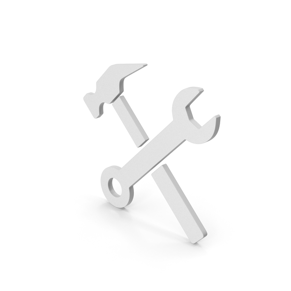 Symbols: Symbol Wrench And Hammer PNG & PSD Images