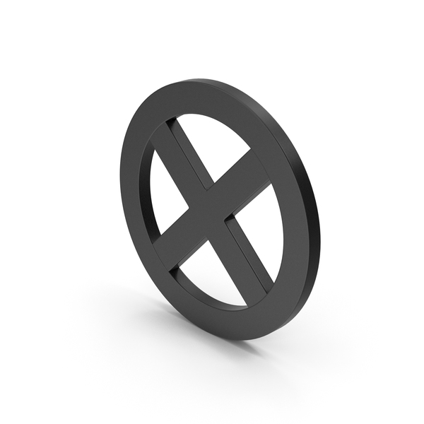 Computer Icon: Symbol X Mark Black PNG & PSD Images