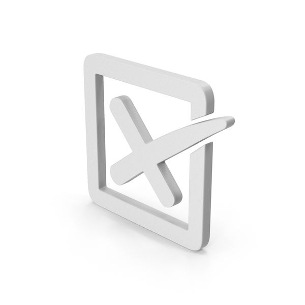 Industrial Equipment: Symbol X Mark Box PNG & PSD Images
