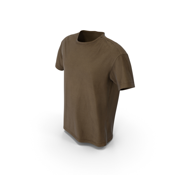 T-Shirt Brown PNG & PSD Images