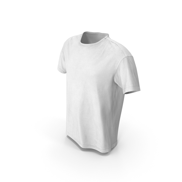 T-Shirt White PNG & PSD Images