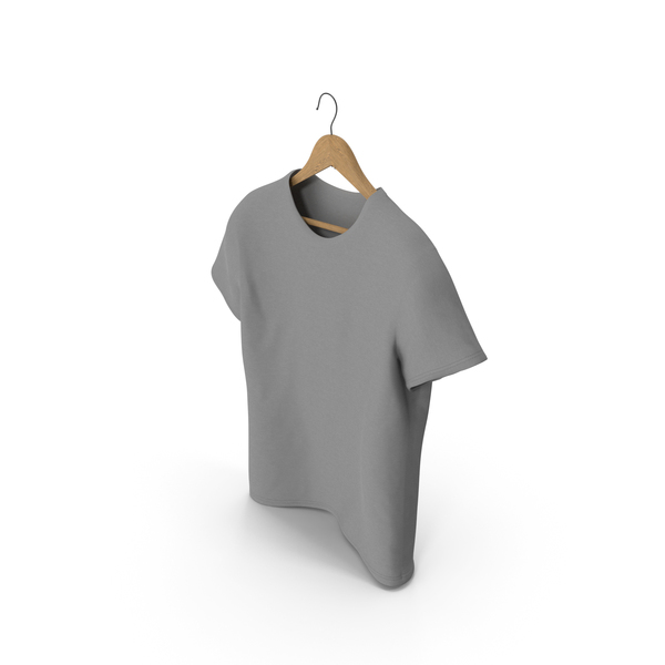 T-Shirt With Hanger PNG & PSD Images